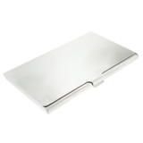 Visitekaarthouder aluminium_