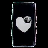 Sleutelhanger chrome hart_