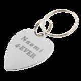 Sleutelhanger / ketting hanger hartvormig_