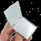 Make up spiegel vierkant_
