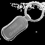 Sleutelhanger silver rectangle 2_