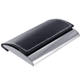 Visitekaarthouder elegance black line rectangle_