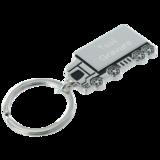 Sleutelhanger vrachtwagen chrome_