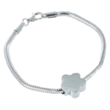 Armband snake model bloem_