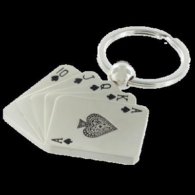 Sleutelhanger speelkaarten
