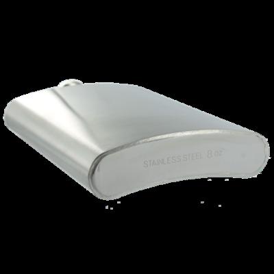RVS zakfles / heupfles 200ml
