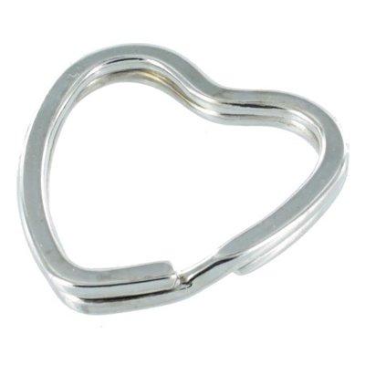 Sleutelhanger ring hart