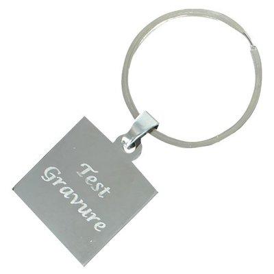Sleutelhanger / ketting hanger deluxe square