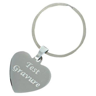 Sleutelhanger / ketting hanger deluxe heart