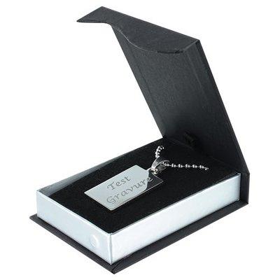 Sleutelhanger / ketting hanger deluxe rectangle