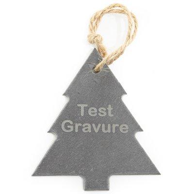 Leisteen kerstboom