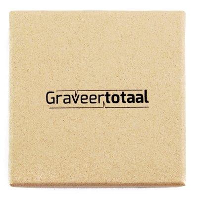 Gift box eco small met Graveertotaal bedrukking