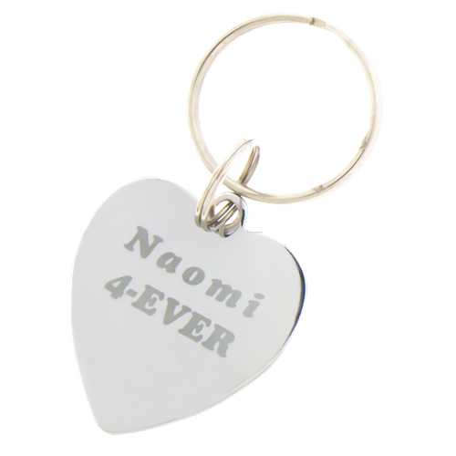 Sleutelhanger / ketting hanger hartvormig