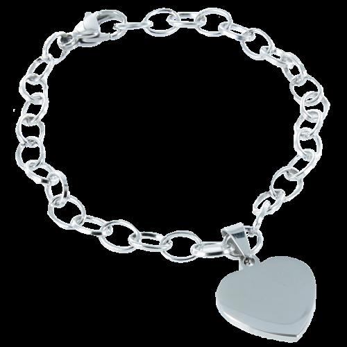 Armband deluxe hart