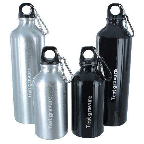 Aluminium drinkfles 400ml small