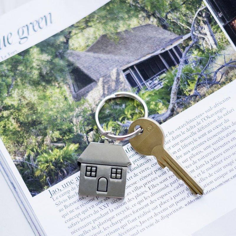 Sleutelhanger huis deluxe small