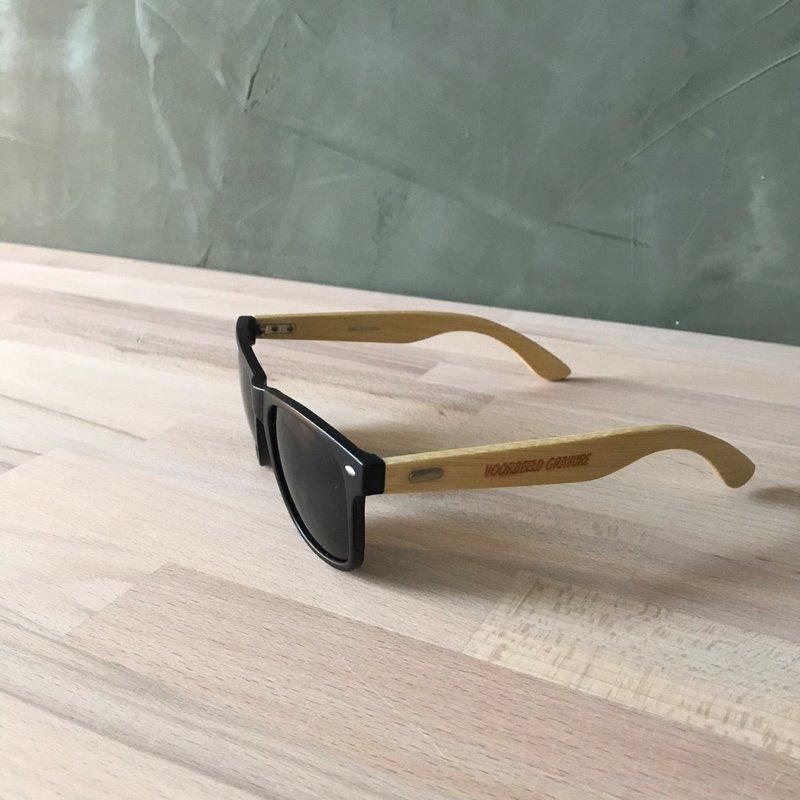 Bamboe zonnebril