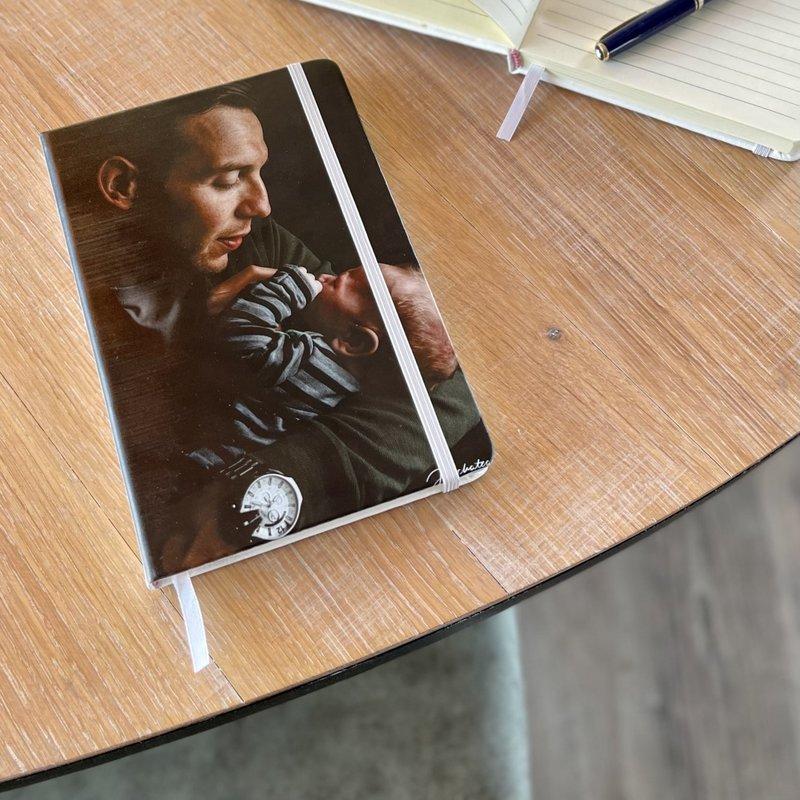 A5 Notitieboek met foto gelijnd