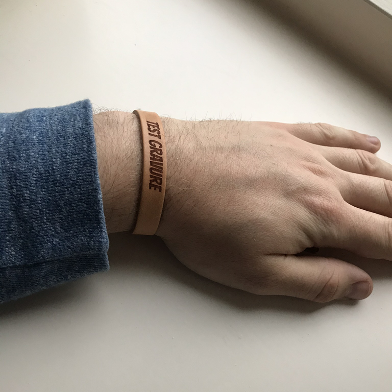 Lederen armband small