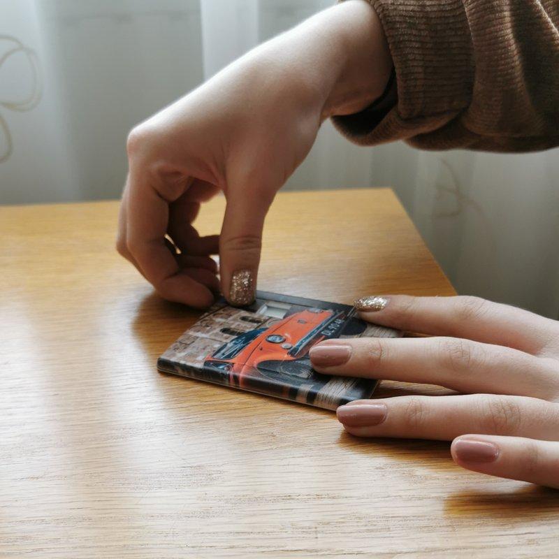 Mini puzzel met foto
