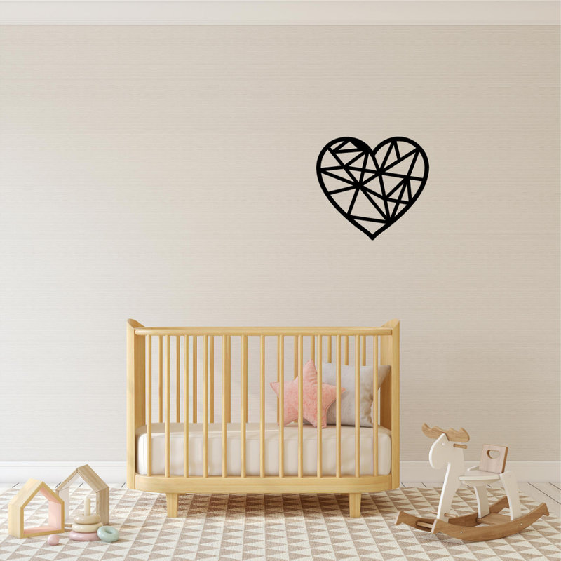 Wanddecoratie hart 1