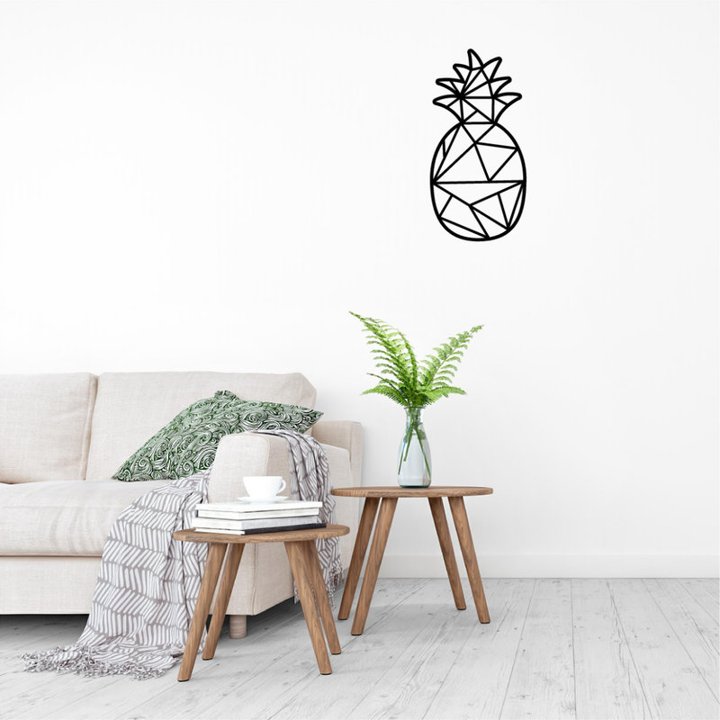 Wanddecoratie Ananas 1