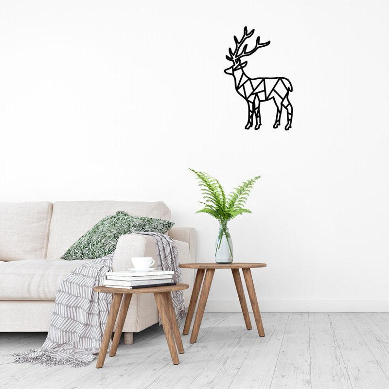 Wanddecoratie Rendier 1