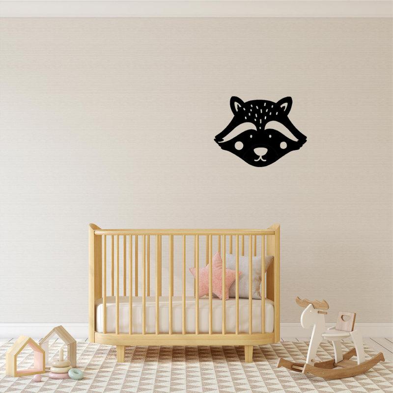 Wanddecoratie Wasbeer 1