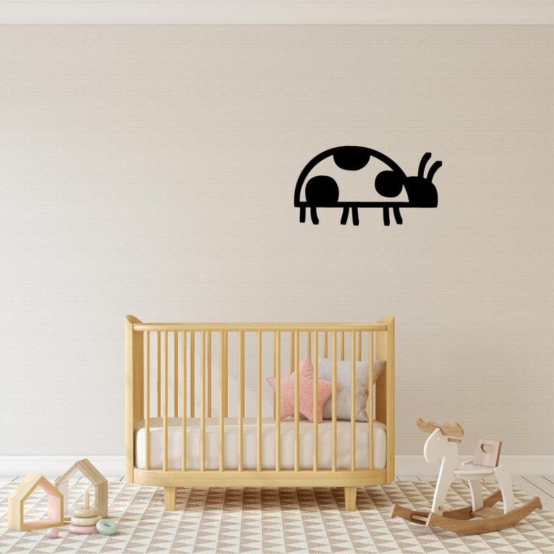 Wanddecoratie Lieveheersbeestje 1
