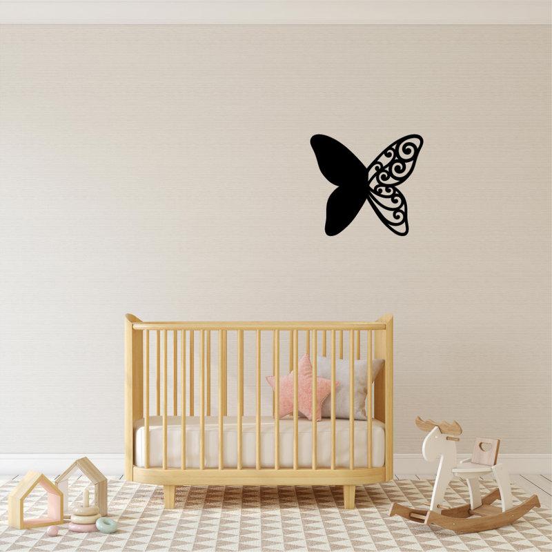 Wanddecoratie Vlinder 1