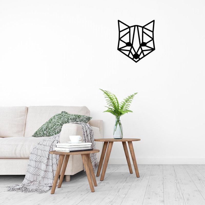 Wanddecoratie vos 1