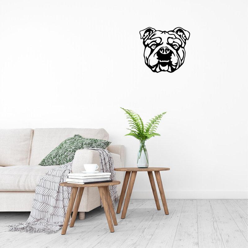 Wanddecoratie hond 1