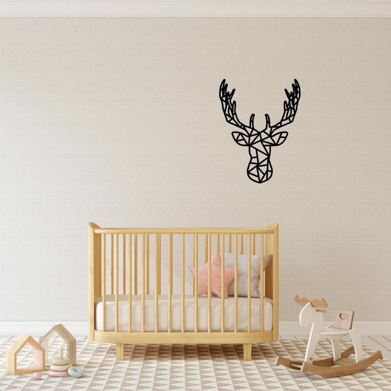 Wanddecoratie hert 1