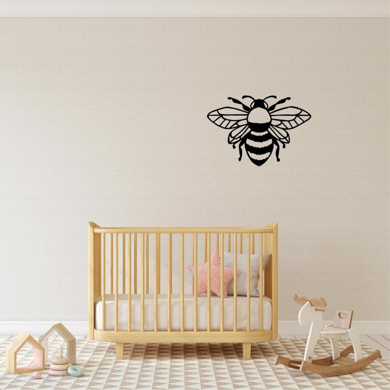 Wanddecoratie wesp 1
