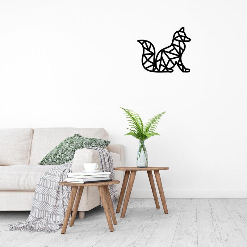 Wanddecoratie Vos 2