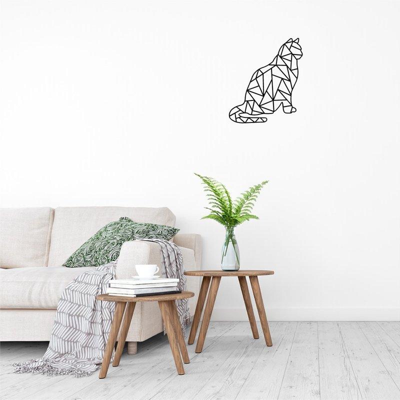 Wanddecoratie poes/kat 1