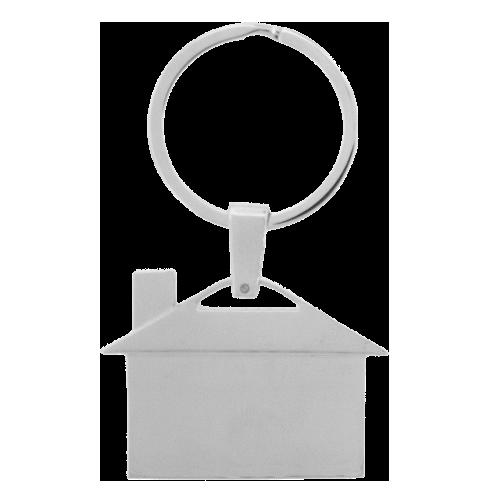 Sleutelhanger huis deluxe