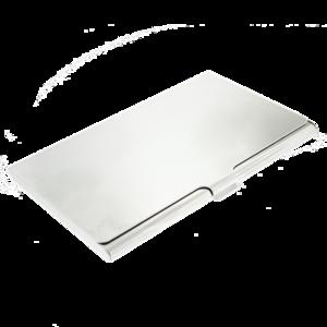 Visitekaarthouder aluminium